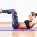 リバースクランチのやり方&効果|腹直筋や腹筋を鍛えるトレーニング!