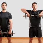 ダンベル・アップライトロウのやり方&効果|三角筋と僧帽筋を鍛える肩関節外旋のトレーニング!