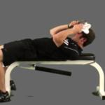ネックフレクションのやり方&効果|頸部屈曲の動きで首を鍛える!