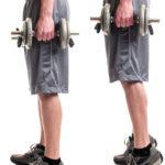 スタンディング・カーフレイズのやり方&効果|ふくらはぎを鍛える筋トレ種目!