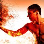 筋トレのバーンズを意識して、筋肉が焼け付くような感じを狙っていこう!